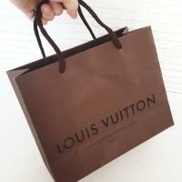 paper bag paperbag tas shopping LV louis vuitton