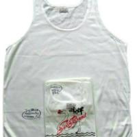 Kaos Dalam Singlet Swan Brand Pria Size 34 36 38 40 42