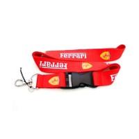 Gantungan Kunci HP Ferrari Lanyard Neck Strap