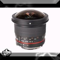 Samyang For Canon 8mm F/3.5 Aspherical IF MC Fisheye CS II DH