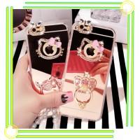 Jual VIVO V5 V5S V5 S luxury mirror Hello Kitty Stand Holder Diamond Case Murah