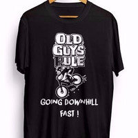 Jual SPECIAL ITEM kaos sepeda downhill old guys rule going downhill fast (  Murah