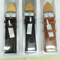 Jual Tali kulit jam tangan/strap genuine leather/kulit Murah
