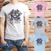 Baju Kaos Band Queen Gildan Distro Grosir Merchandise Hits 10