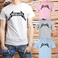 Baju Kaos Band Metallica Gildan Distro Grosir Merchandise Hits 12