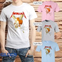 Baju Kaos Band Metallica Gildan Distro Grosir Merchandise Hits 11