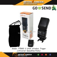 Godox Tt560 Ii + Wireless Trigger (Universal Speedlite/Flash)