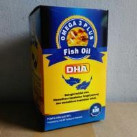 Minyak Ikan (Fish Oil) Omega 3 + DHA