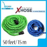 Selang Air Magic Xhose/Expandable Hose Taman 50 Feet/15 Meter MURAH