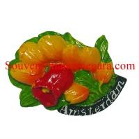 Buah Tangan Ready Stock Belanda Magnet Kulkas Bunga Tulip Belanda