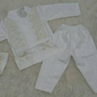 Koko bayi / koko newborn / baju koko anak / koko putih