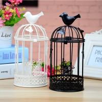 Bird Butterfly Candle Stick Lantern - Lentera Hias
