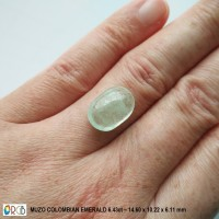 Jual Natural Emerald 6.43 Ct - Muzo Colombia Murah