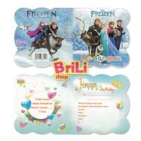 Kartu Undangan Ulang Tahun Frozen | Souvenir Ultah