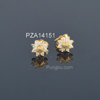Anting emas matahari PZA14151