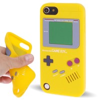 GAMEBOY SILICONE CASE IPOD TOUCH 5 / 6 YELLOW