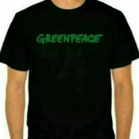 kaos/baju/t shirt GREENPEACE