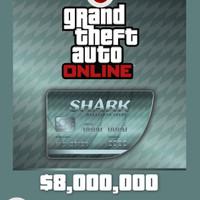 [PC Game DLC] Grand Theft Auto V - Megalodon Shark Cash ($8,000,000)