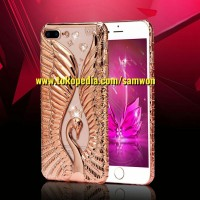 Jual iPhone 7 Plus [ Rose Gold ] Diamond Casing / Case Murah