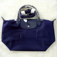 ORIGINAL Longchamp Le Pliage Neo Navy Small