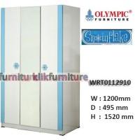 WRT 0112910 SNOWFLAKE Olympic Lemari 3 Pintu