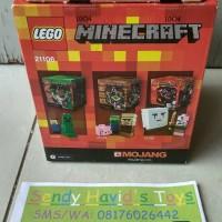 Jual LEGO 21106 Minecraft Micro World The Nether Murah