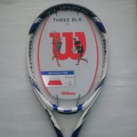 Raket Tenis Tennis Wilson Three BLX