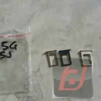 sim tray sim lock tempat kartu sim Iphone 5 5s