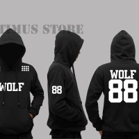 JAKET SWEATER HOODIE WOLF 88 EXO - Glory Clothing