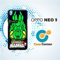 Casing HP Oppo Neo 9 | A37 Green Mamba Monster Energy Lorenzo Motogp