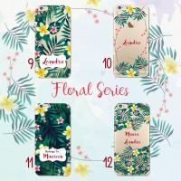 custom case flower bisa semua tipe hp iphone samsung oppo