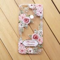 custom case flower termurah bisa semua HP iphone samsung oppo xiaomi