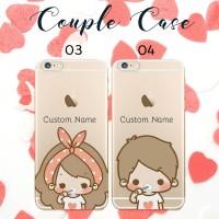 custom case couple termurah bisa semua tipe HP iphone samsung oppo dll