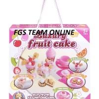 MAINAN ANAK LUXURY FRUIT CAKE PARTY TIME TEA TIME MAINAN DESSERT PARTY
