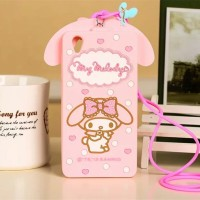 oppo neo 9 a37 a37f 3d my melody silikon softcase case casing sarung