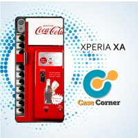 Casing HP Sony Xperia XA CocaCola Machine