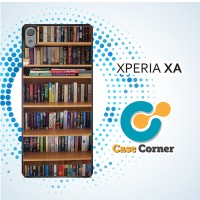 Casing HP Sony Xperia XA Book Library