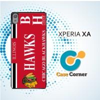 Casing HP Sony Xperia XA Chicago Blackhawks