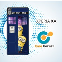 Casing HP Sony Xperia XA Despicable Me Dr Who Tardis Call Box Galaxy