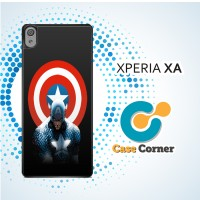 Casing HP Sony Xperia XA Captain America