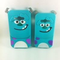 promo case 4d sulley for samsung galaxy grand prime / g limited