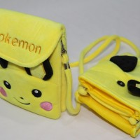 Jual Tas / Pokemon/ Handbag kecil buat anak lebaran / lucu/anime Murah