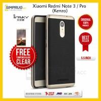 PAKET Original Ipaky Bumper Case Xiaomi Redmi Note 3 Pro Kenzo Soft