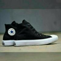Sepatu Converse CT II Mono High Lunarlon Black White Hitam Putih Murah