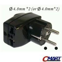 WONPRO WAIII-9-3w: Universal Tri-socket Travel Power Plug Adapter
