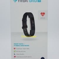 Fitbit Alta HR Fitness Wristband Smartwatch Tracker Black S