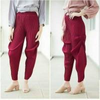 Jual alanis pants maron - celana murah - jogger - bawahan wanita Murah
