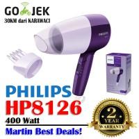 Hair Dryer Philips HP 8126 | Pengering Rambut Lipat HP8126 | 400 Watt