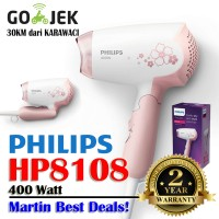 Hair Dryer Philips HP 8108 | Pengering Rambut Lipat HP8108 | 400 Watt