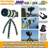 Gorillapod / Flexible Tripod Jumbo Untuk DSLR Mirrorless Gopro HP Dll